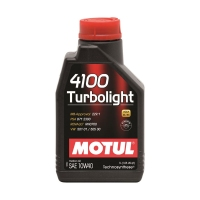 Моторное масло MOTUL 4100 Turbolight 10W40, 1л